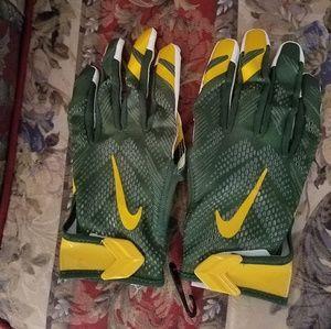 Men's Green Bay Packers Nike Vapor Gloves